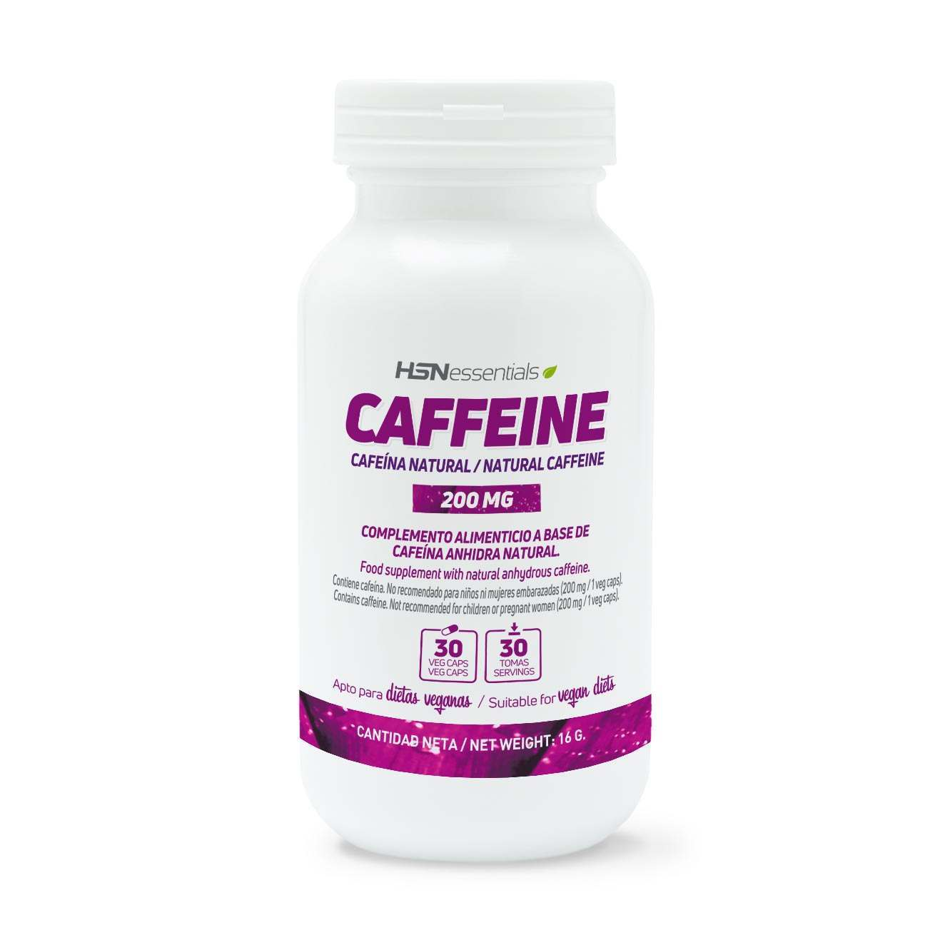 CAFFEINA NATURAL 200mg - 30 veg caps