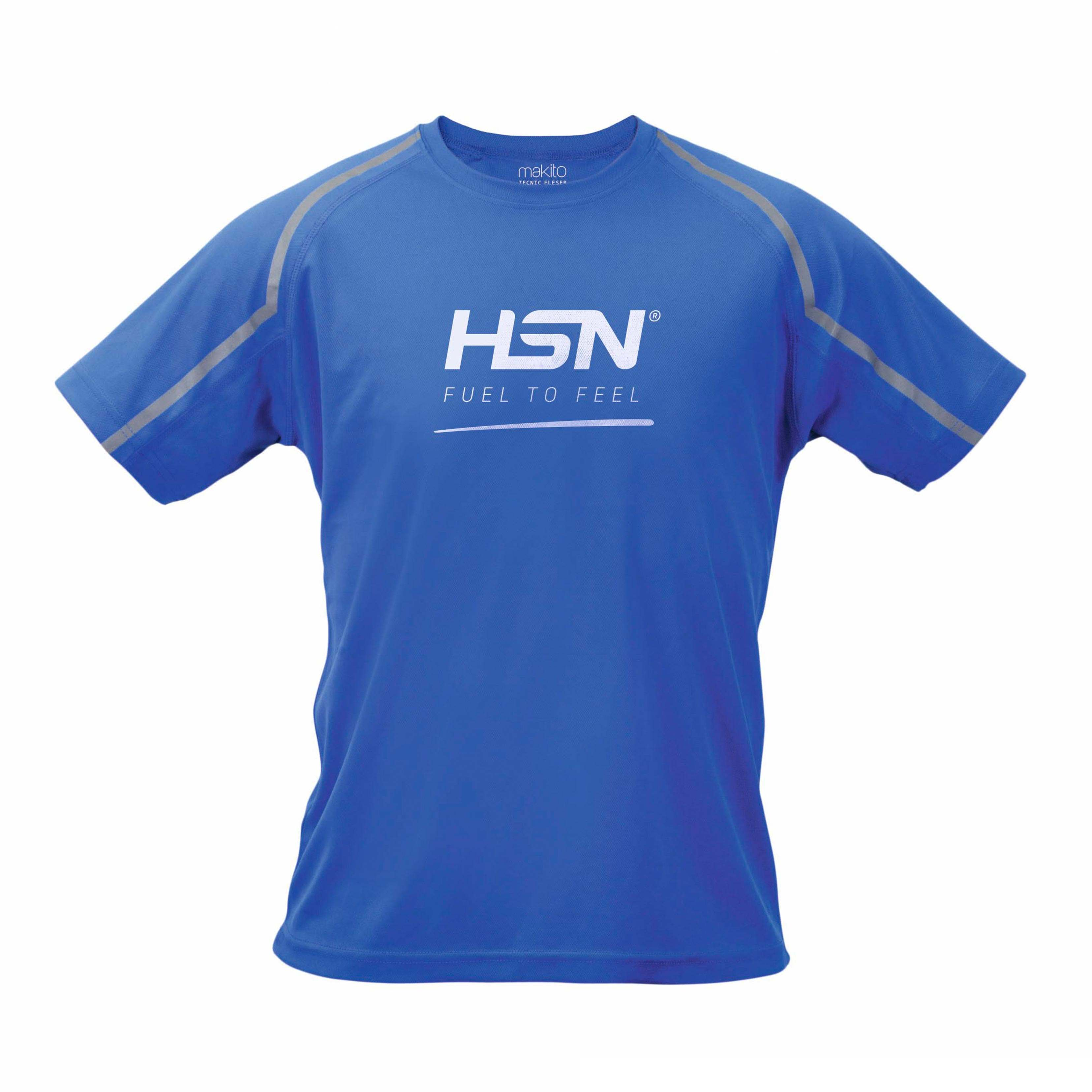 T-SHIRT TÉCNICA HSN FUEL TO FEEL AZUL - S